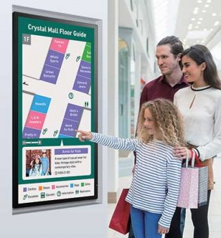 Sharp PN40TC1 Interactive Whiteboards Digital Touch Signage
