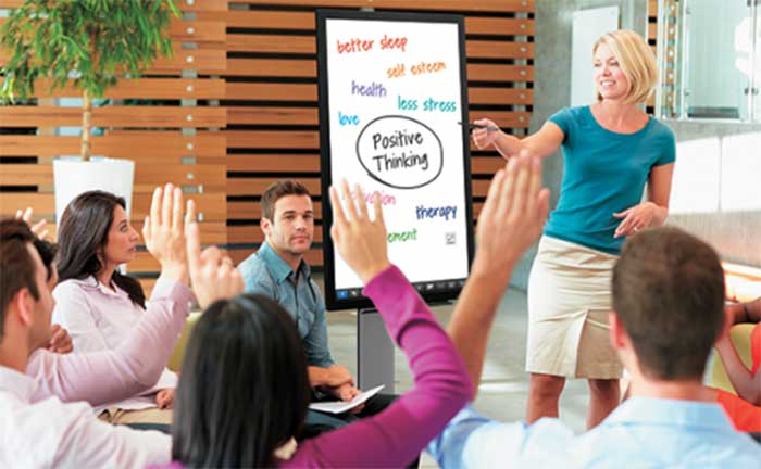 Sharp PN40TC1 Interactive Whiteboards Learning