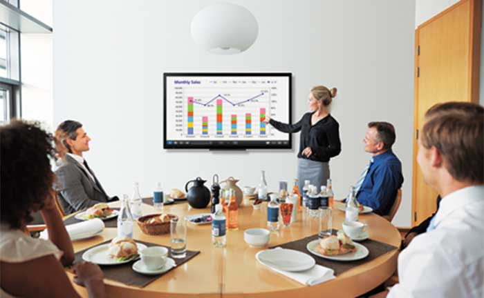 Sharp PN40TC1 Interactive Whiteboards Meetings