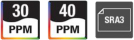 Sharp MX-4060 feature icons
