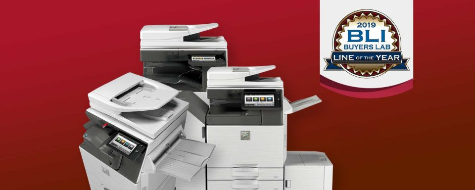Sharp BLI 2019 MFP Line of the Year