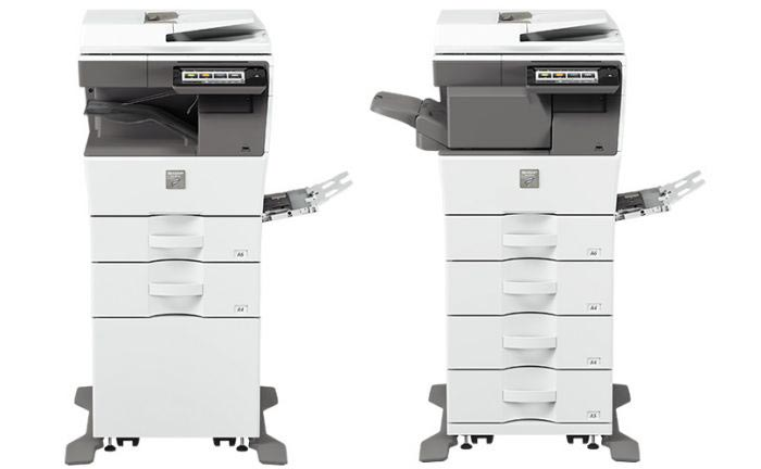 Sharp MX-B350W side by side