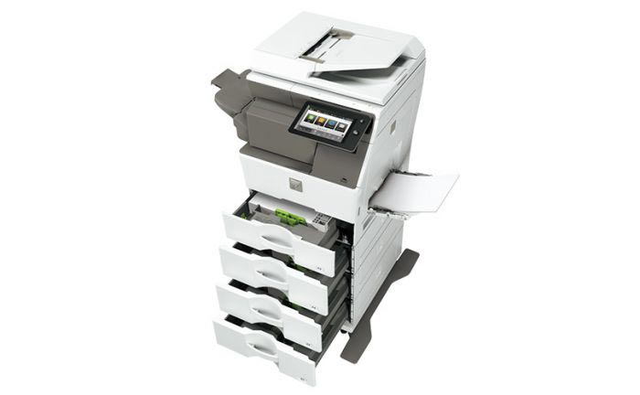 Sharp MX-B350W drawers