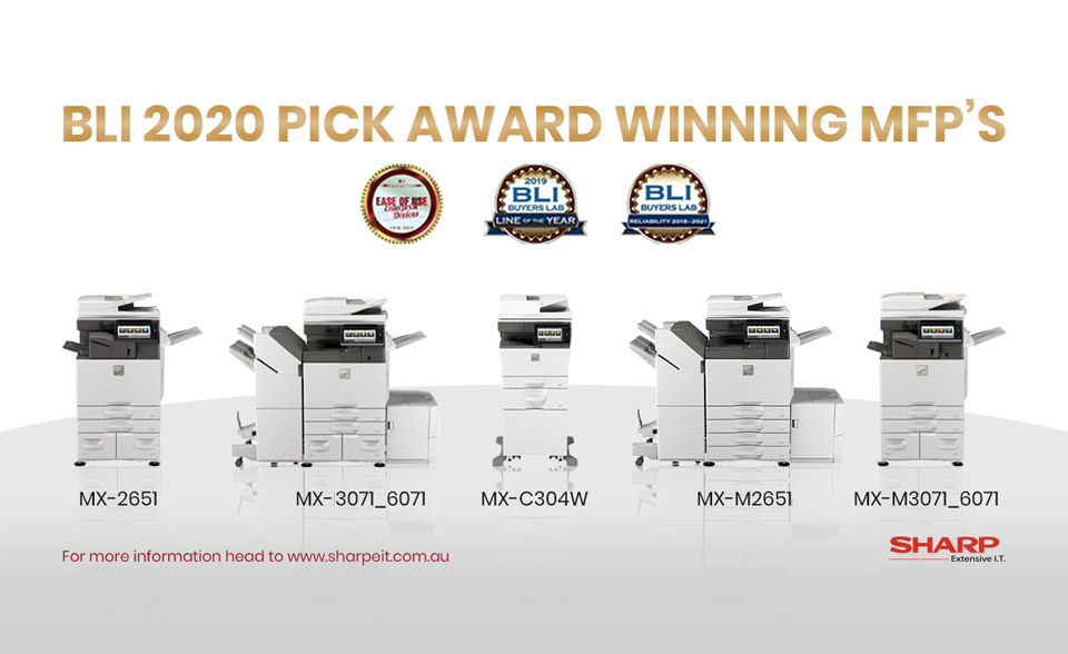 sharp multifunction printers award winning
