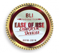 BLI Ease of Use Badge 2018-2019