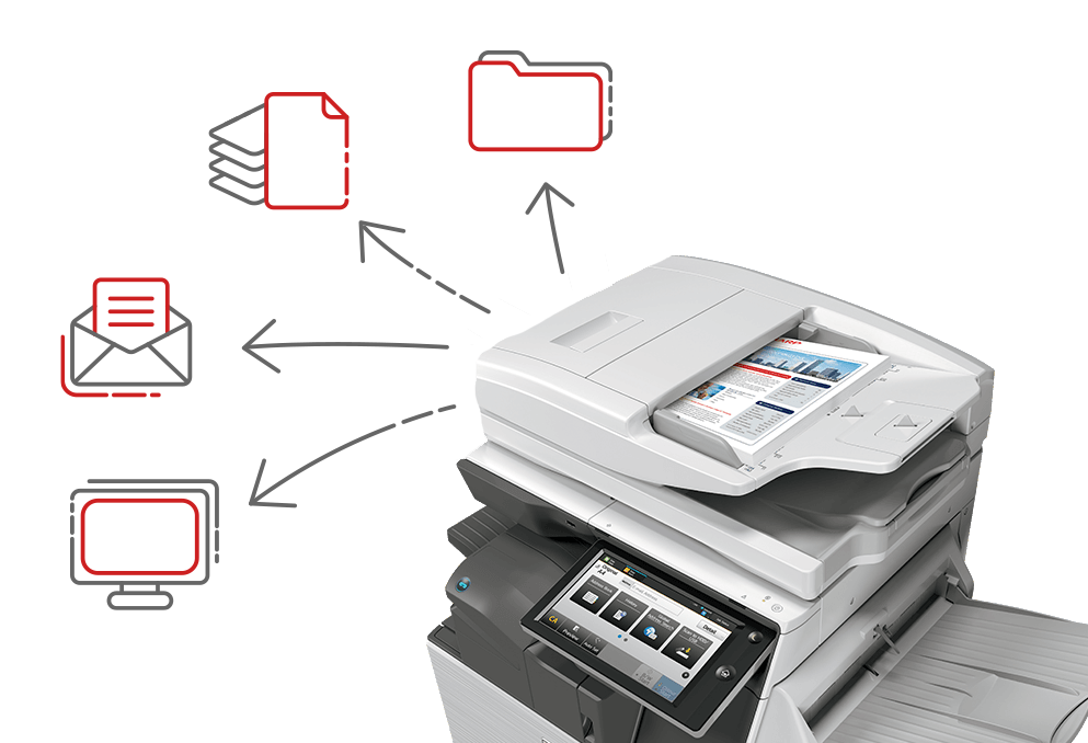 Scan and Convert Case File Documents