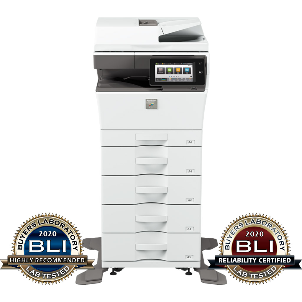 "BLI ""Pick of the Year"" award MX-C304W - Outstanding Colour MFP for SMBs"