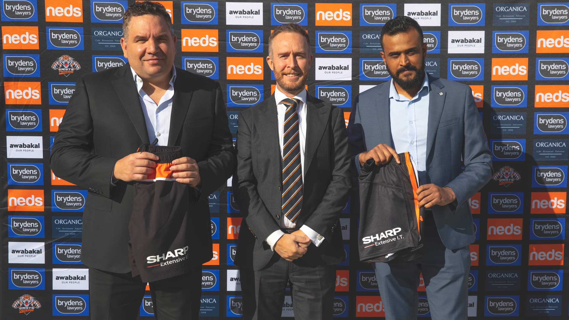 Sharp Extensive IT partner with Wests Tigers